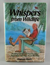 WHISPERS FROM WILDLIFE (1990) RARE SIGNED 1st Ed by Marcus Bach (FINE/FINE hc/dj