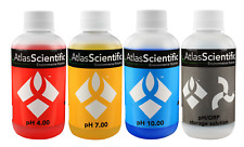 Atlas Scientific pH 4.00, 7.00, 10.00, with Storage Solution 125ml (4oz)