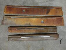 1952 Desoto Two Door Hardtop Garnish Mouldings Moldings Set Door Quarters