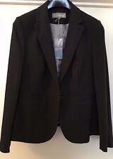"""M&S Donna Stitch giacca nero fumo"""" """"TAGLIA 12 PRP £ 49.50"""