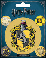 Harry Potter (Hufflepuff) 5 Vinyl Stickers Pack * OFFICIAL PRODUCT *