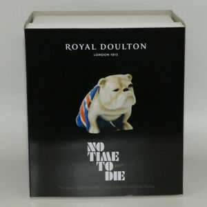 Royal Doulton Jack Bulldog DD 007B from James Bond 007   No Time To Die