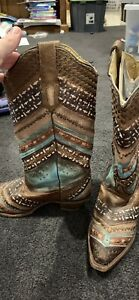 CORRAL ladies boots size 9.5