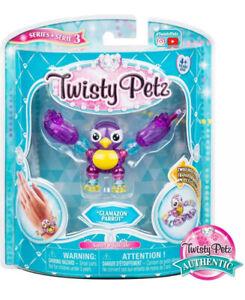 Twisty Petz Series 3: GLAMAZON PARROT Collectable Bracelet