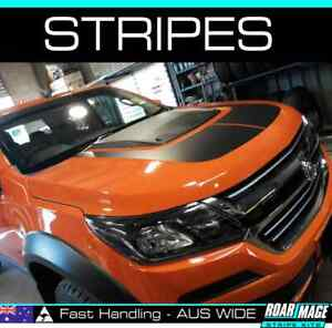 2015-2020 HOLDEN Colorado bonnet scoop stripes decals stickers decal sticker Z71