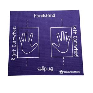 Purp Cartwheel Training Mat (Teaches: Handstand, Bridges, Rolls) - Non-Slip;Soft