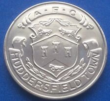 HUDDERSFIELD TOWN FA CUP CENTENARY  (1872  - 1972 ) ESSO COIN / MEDAL