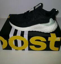 Adidas AlphaBOOST  Parley Men's Size 10 Running shoes black white NWT and Box