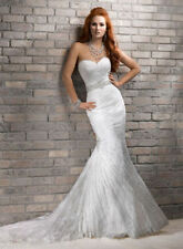 Satin Full-Length Mermaid Dresses for Women