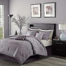 Comforter Set Queen Purple Madison Park Mp10 919 Biloxi 7 Piece Bedding Cover