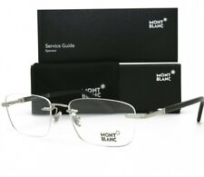 Mont Blanc Eyeglasses Rimless MB 558 016 Silver Brand New Authentic