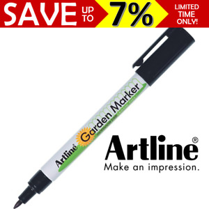 NEW SEALED Artline 780 EK-780 Garden Marker Outdoor Nursery Flower Pot Pen BLACK