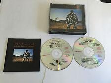 Pink Floyd  Delicate Sound Of Thunder 2 x CD AUSTALIA RARE PRESSING EX.EX W BKLT