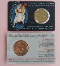 Pièces euro du Vatican Année 2016