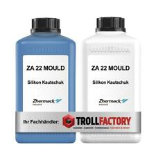 Zhermack Silikon Kautschuk ZA 22 MOULD Abformen Dublieren weich blau 1:1 2kg