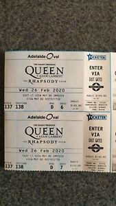 Queen concert tickets