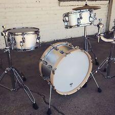 Virtue Drums Travel Bop Mini Drum Kit Compact 3pc Set 18 Bass 10 13 Shell Pack