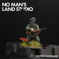 Pro Painted 28mm Bolt Action Wermacht officer Warlord Games Ww2
