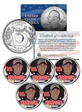 Lot of 5 KEVIN HARVICK Colorized Georgia Quarters US Coin LICENSED 2014 Champion