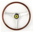 Ferrari 206 246 GT GTS Nardi Wood Steering Wheel New