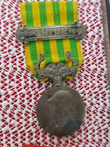Orden, Frankreich: 1901 China Expedition Erinnerungsmedaille 1902