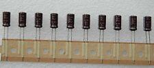 20 PCs  Nichicon 50v 39uf 39mfd Radial Electrolytic Capacitor 6.3mmx11.5mm 105°C
