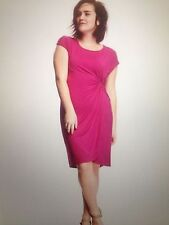 OLD NAVY WOMEN'S PLUS SIZE 3X SHIFT DRESS RAYON/SPANDEX PINK NEW WITH TAG