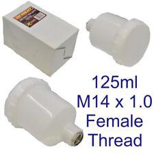 125ml Spray Paint Cup Air Gravity Feed Paint Spray Pot for Spray Gun M14 8159
