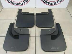 JEEP GLADIATOR (JT) Molded Front And Rear Splash Guards NEW OEM MOPAR