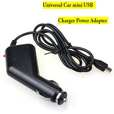 Car Charger Adapter With USB mini Power For Garmin Nuvi GPS Black Universal New