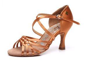 "2.5"" Delux Satin Ladies Latin Shoes"
