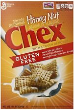 Chex Cereal, Gluten Free, Honey Nut, 12.5 Ounce (Pack of 3)