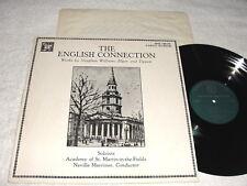 "Marriner ""Williams/Elgar/Tippett:English Connection"" 1984 LP,Nice NM!, MHS-7001W"