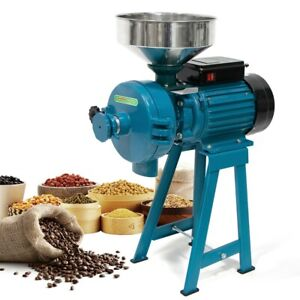 110V 3000W Electric Grinder Wet & Dry Grinder Feed/Flour Mill Cereals Grain Corn