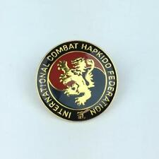 "Vintage Lapel Pin Combat Hapkido International Federation - Hat Pin 1"""