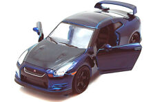 JADA FAST AND FURIOUS 7 BRIAN'S 2009 NISSAN SKYLINE GT R R35 1:24 BLUE
