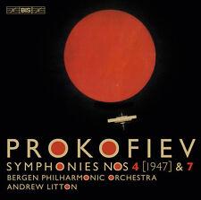 Prokofiev / Bergen P - Prokofiev: Symphonies 4 & 7 [New SACD]