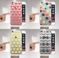 Coque Pour ,Samsung,Silicone,Doux,Transparent,Yeux,Cœurs,Étoiles,Jolie,'