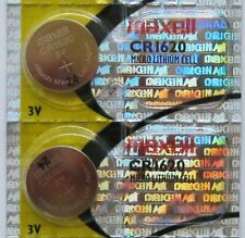2PC Maxell CR1620 1620 Micro Lithium Cell battery 3V