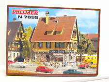 Vollmer N 7695 Cafe-Bistro ungebaut OVP (Z1987)