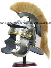 Centurion Medieval Roman Helmet Armor Crest Plume Gladiator Handmade Gift