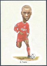 LIVERPOOL FOOTBALL CARDS-2002- #19-DJIMI TRAORE