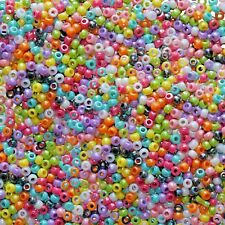Artstraws Pony Beads, Assorted Colours (Approx 500)