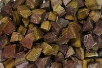 18 Pounds of Natural Brinjal Stripe Jasper Rough Stones - Tumble Rocks, Reiki