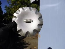 """3323 /'99-/'03 FORD WINDSTAR USED CAP RAISED LOGO PAINTED SILVER 6-1//2/"""" DIA"""