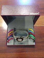 Vintage GRUEN Women's Quartz Wristwatch Watch 11 Faces in Original Box