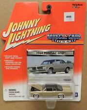 1964 64 PONTIAC GTO GOAT GOLD MUSCLE CARS JL JOHNNY LIGHTNING