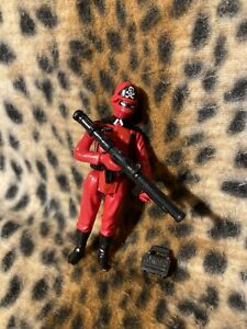 Action Force/G I Joe Red Shadow figure, Palitoy 1983. Complete with accessories