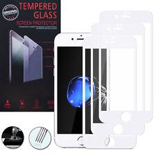 """3 Films Verre Trempe Protecteur Protection BLANC pour Apple iPhone 7 4.7"""""""
