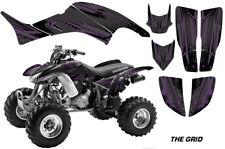ATV Decal Graphics Kit Sticker Wrap For Honda TRX400EX 1999-2007 THE GRID PURP